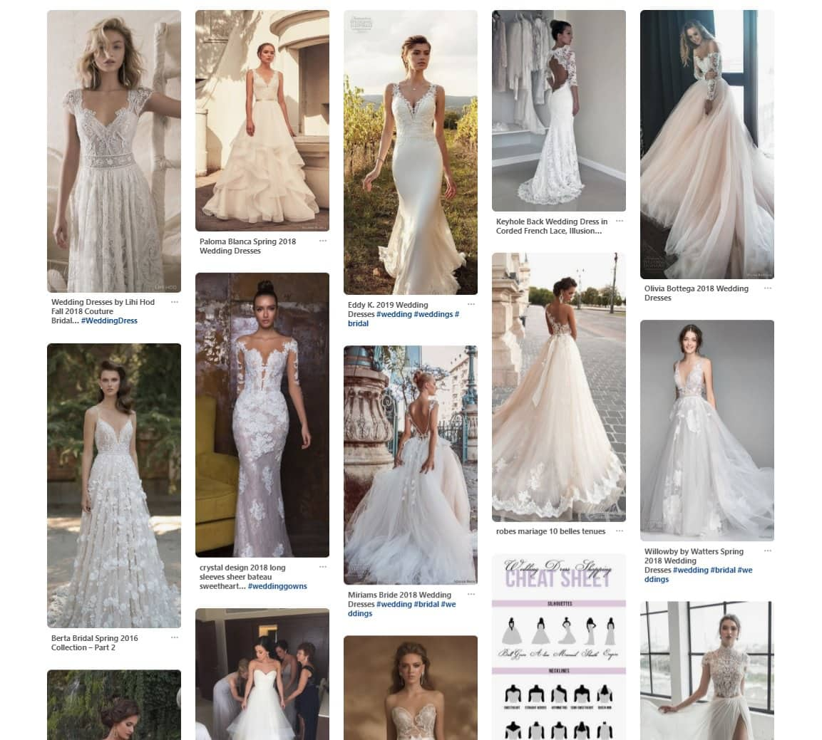 Wedding dresses inspiration - replace it